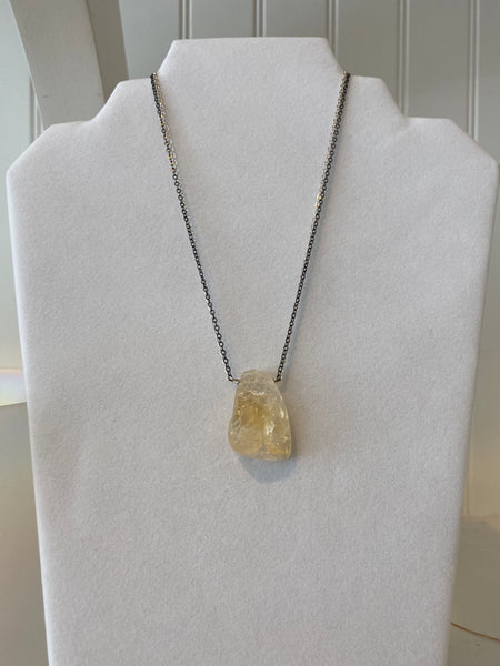 Copal Citrine Necklace