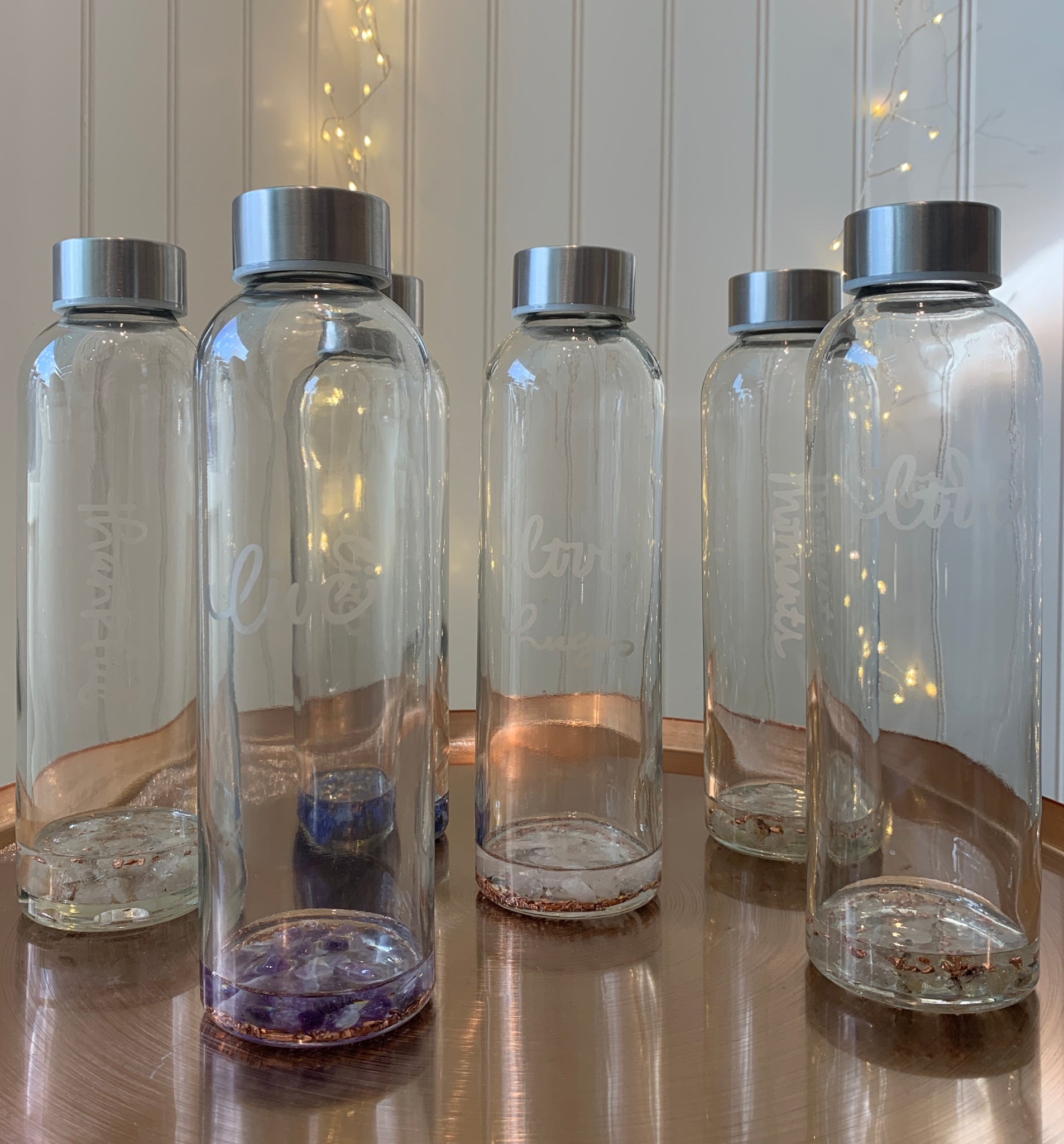 Orgonite Water Bottles