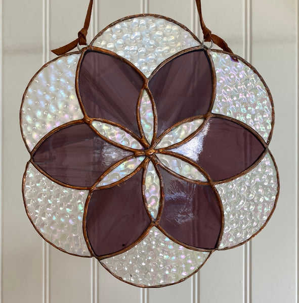 Stained Glass Flower of Life