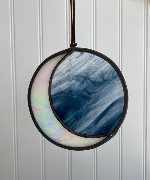 Moon Phase Stained Glass