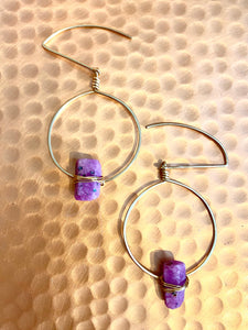 Ruby Balance Earrings