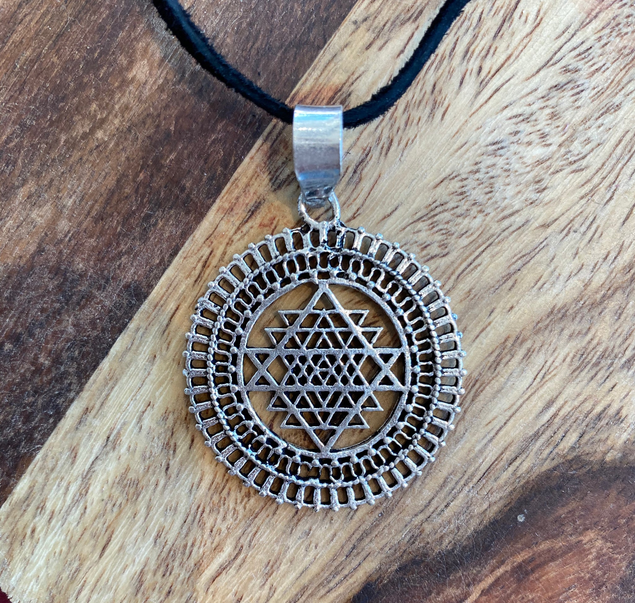 Small Sri Yantra Necklace