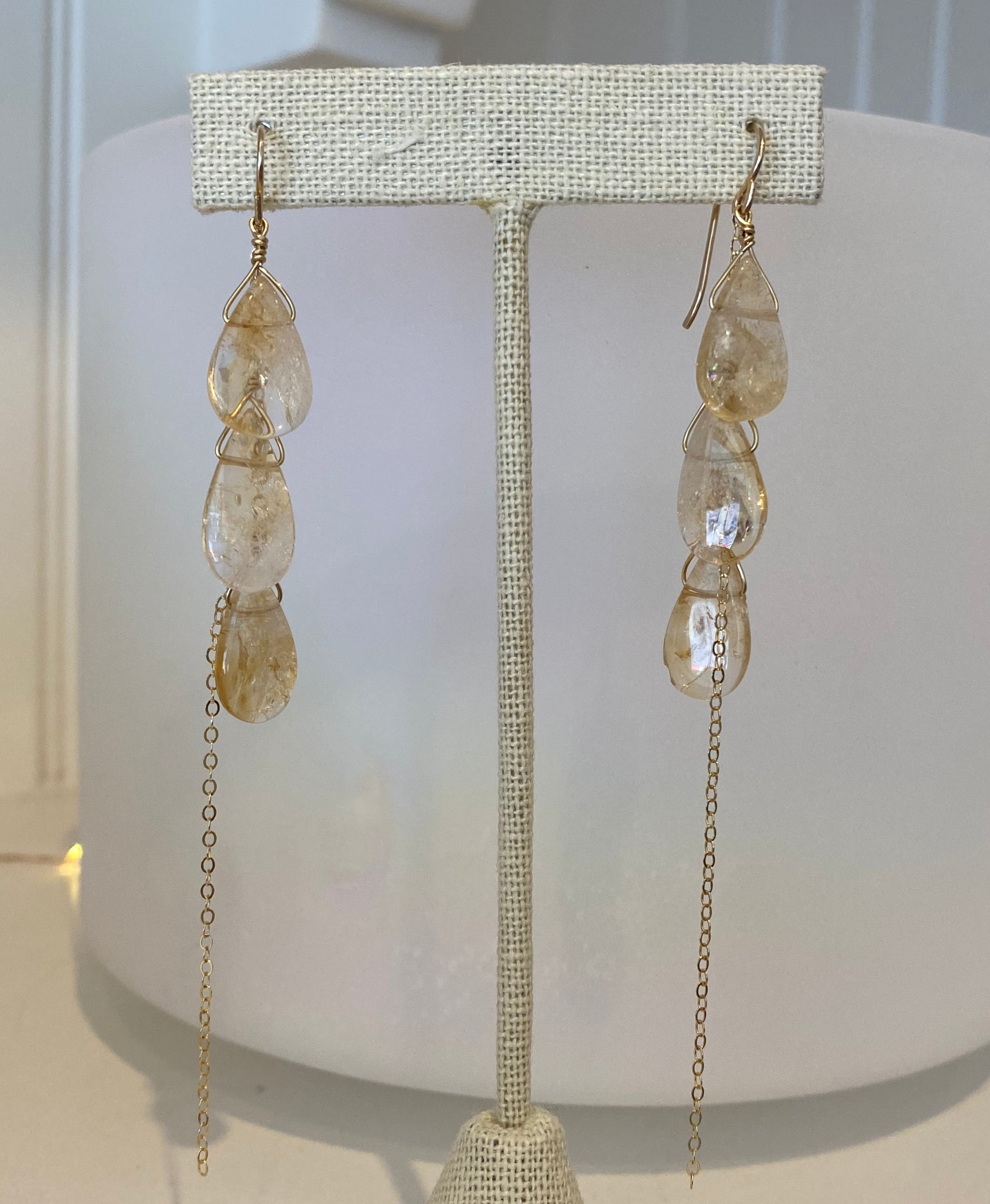 Sunkiss Citrine Earrings