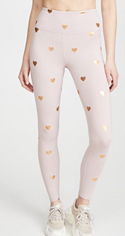 Rose Heart Spiritual Gangster Leggings