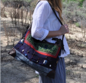 Yelda Hill Tribe Handbag With Beads