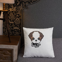 Load image into Gallery viewer, Premium Pillow with I Shih Tzu Not
