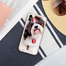 Load image into Gallery viewer, Liquid Glitter Phone Case with Shih Tzu design