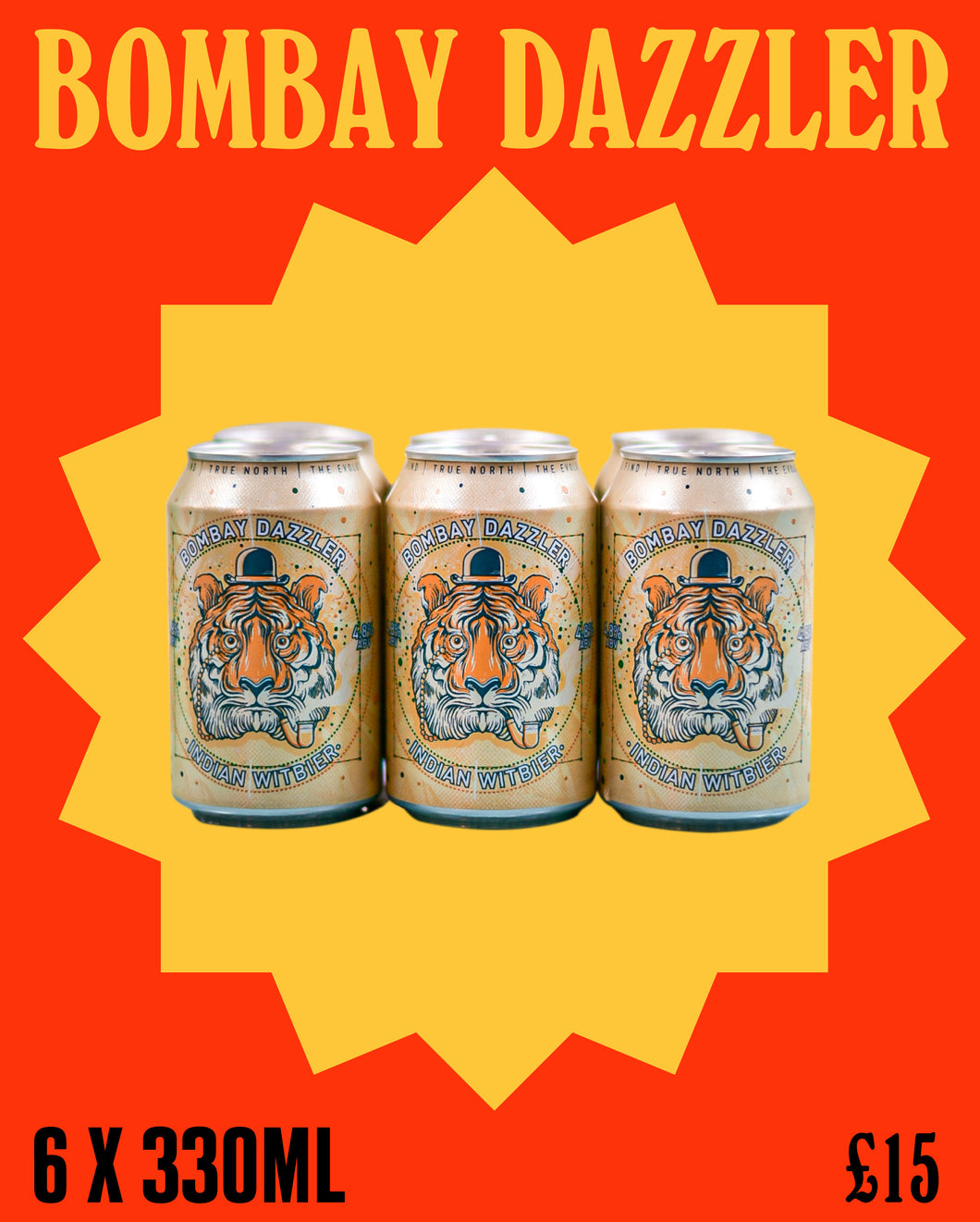 NORTHERN MONK X BUNDOBUST Bombay Dazzler (6 x 330ml)