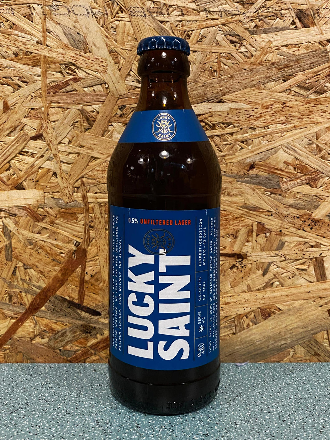 LUCKY SAINT Unfiltered Lager