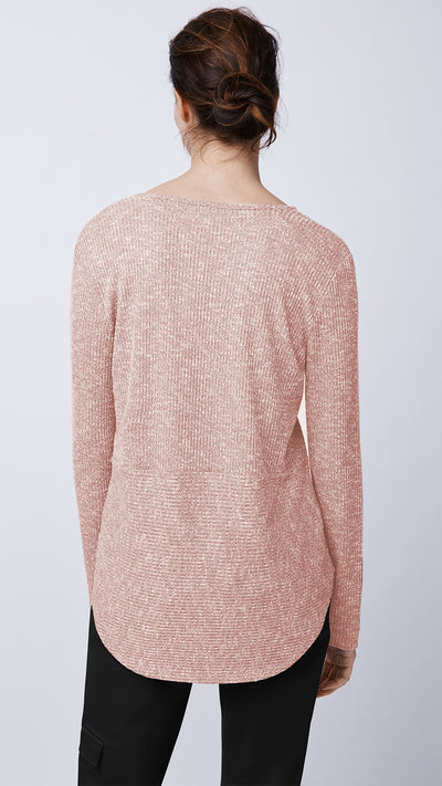 Long-Sleeve Ribbed Top