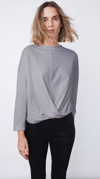Women's Sustainable Cross Front Top by b new york