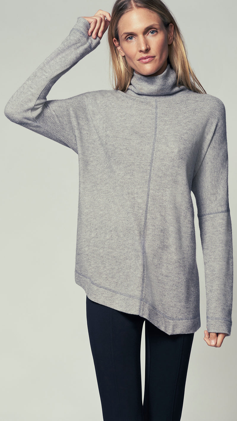 Asymmetrical Turtleneck