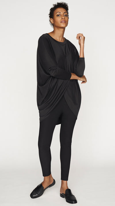 Cross Front Drape Top