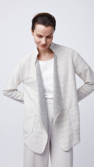 Open Draped Cardigan