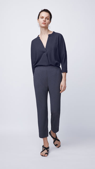 Pull-On Pant in Night - Women's Apparel | b New York