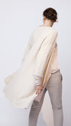 Slub Open Front Cardigan in Cashew - Women's Apparel | b New York