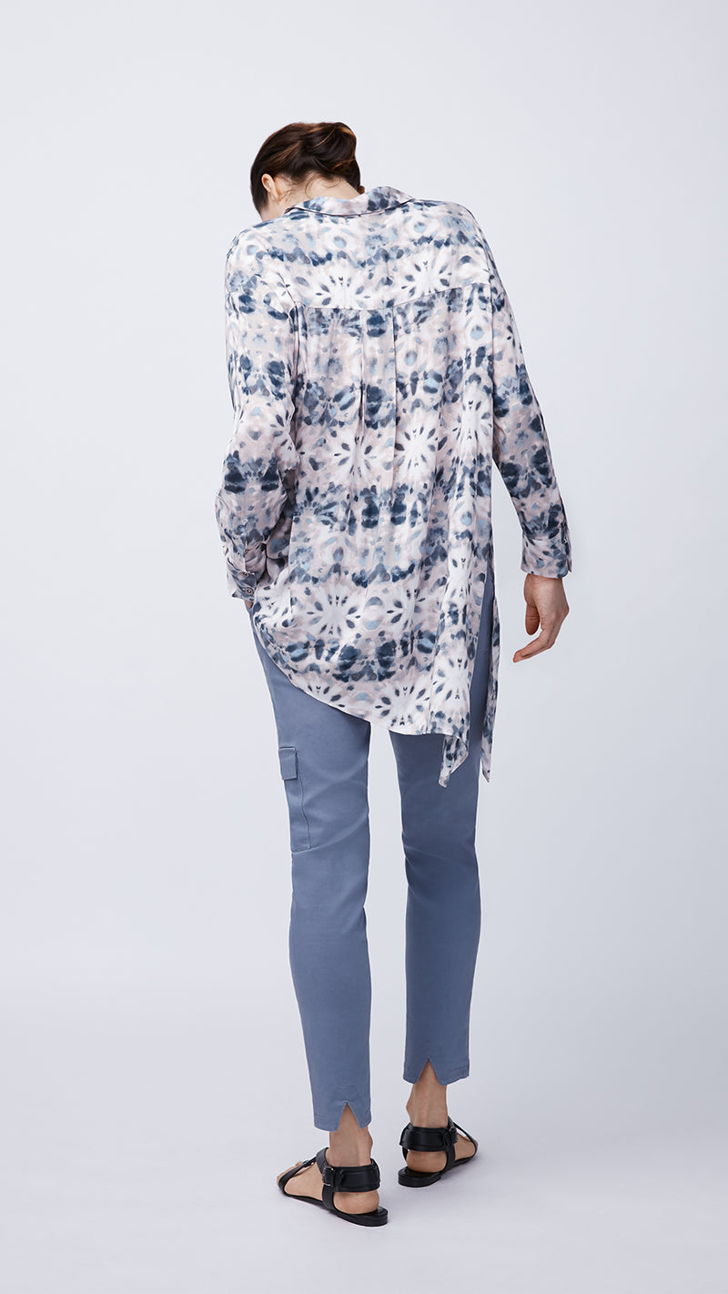 Women's Sustainable Tie Dye Popover Shirt by b new york