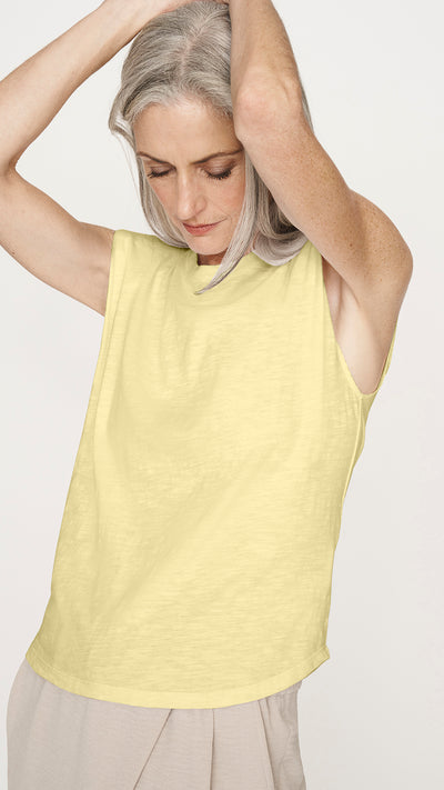 Eco Padded Shoulder Tank