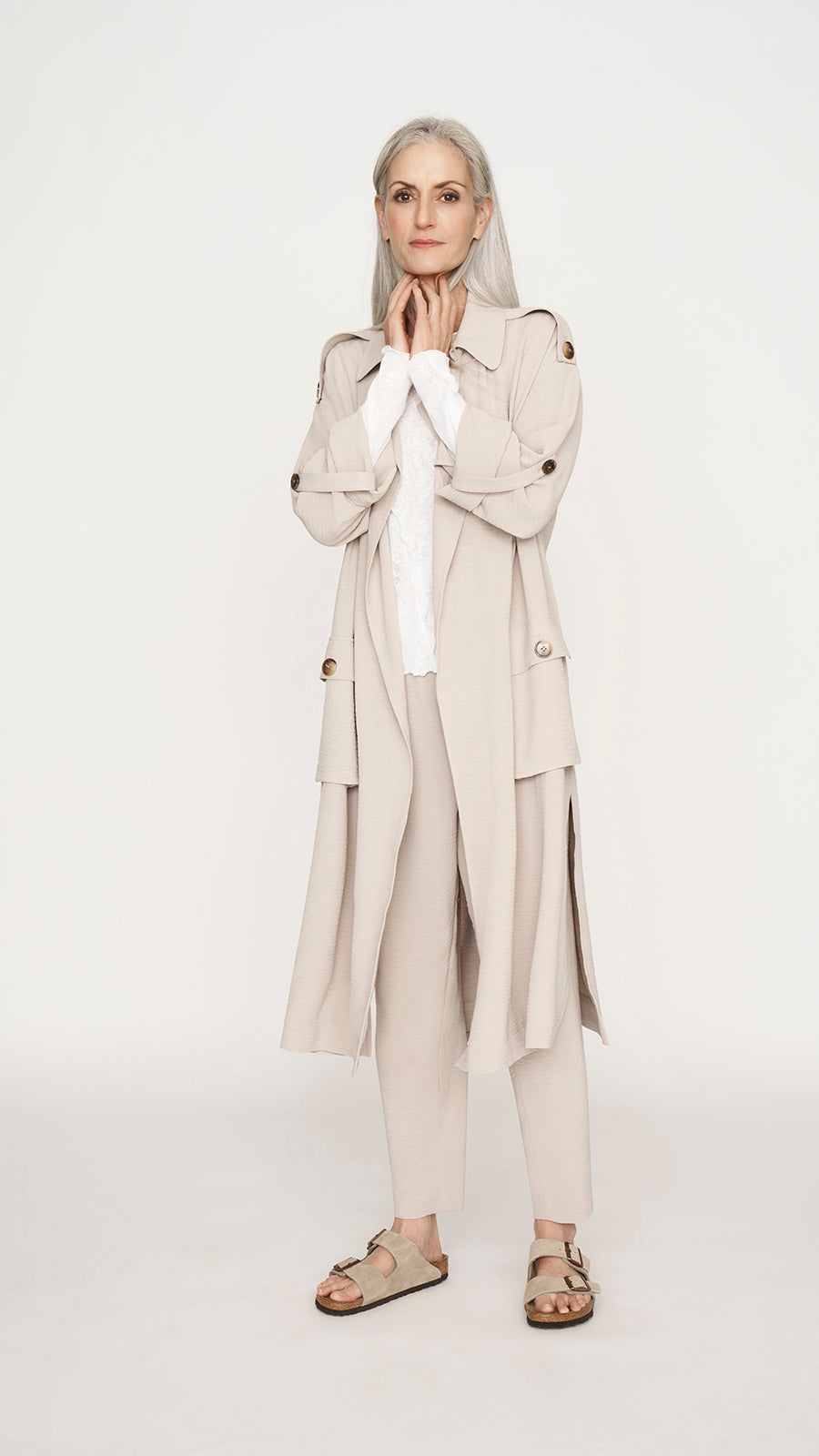 Recycled Trench Coat