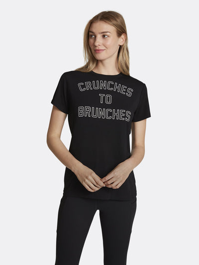 Crunches to Brunches Graphic Tee