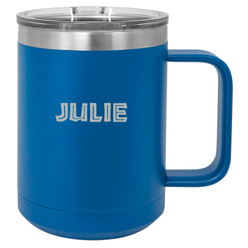 Personalized Dragon Racing Mug - 15 oz. Stainless Steel Insulated