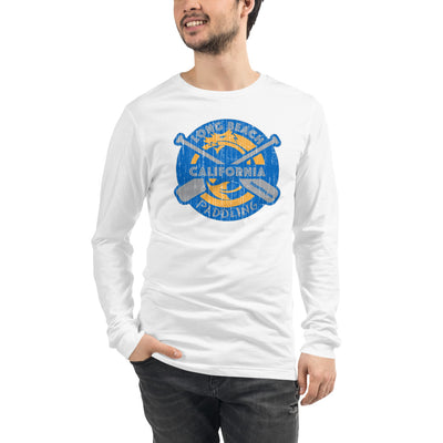 Dragon Classic Distressed Design Long Sleeve Tee