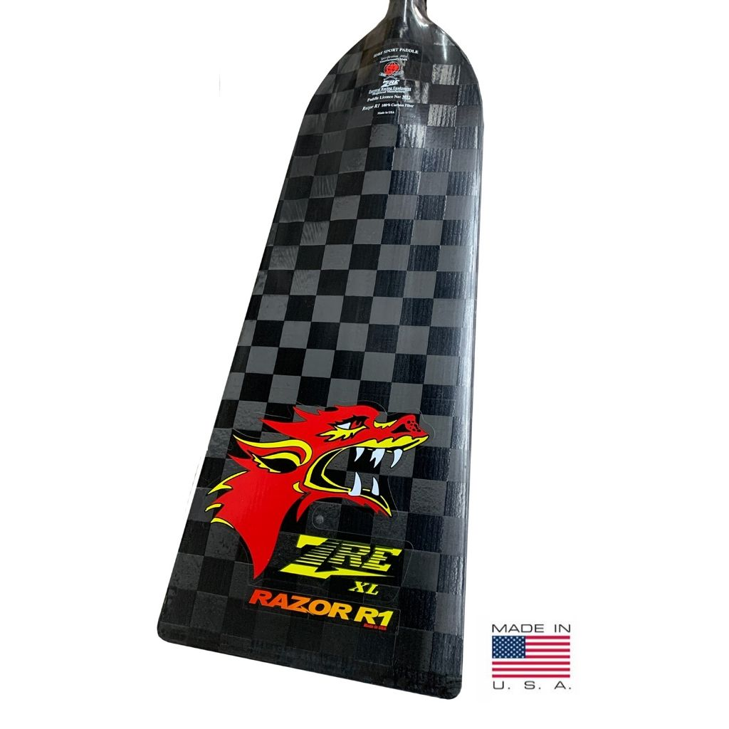 ZRE Razor R1 XL Adjustable Dragon Paddle (for Serious Racers)