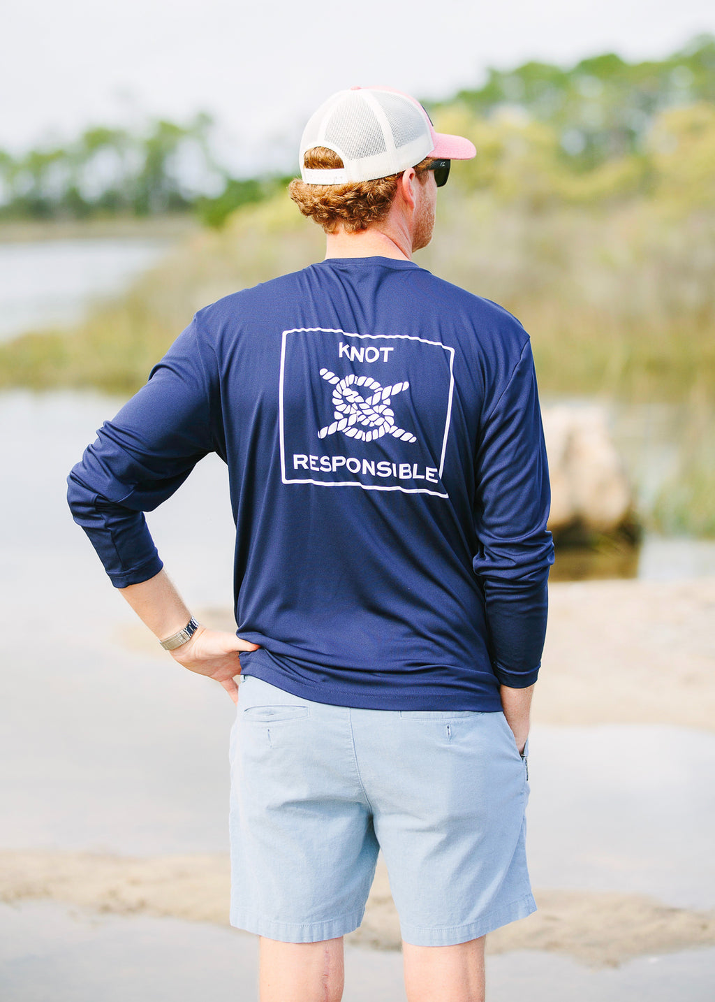 Classic Performance Long Sleeve - Navy