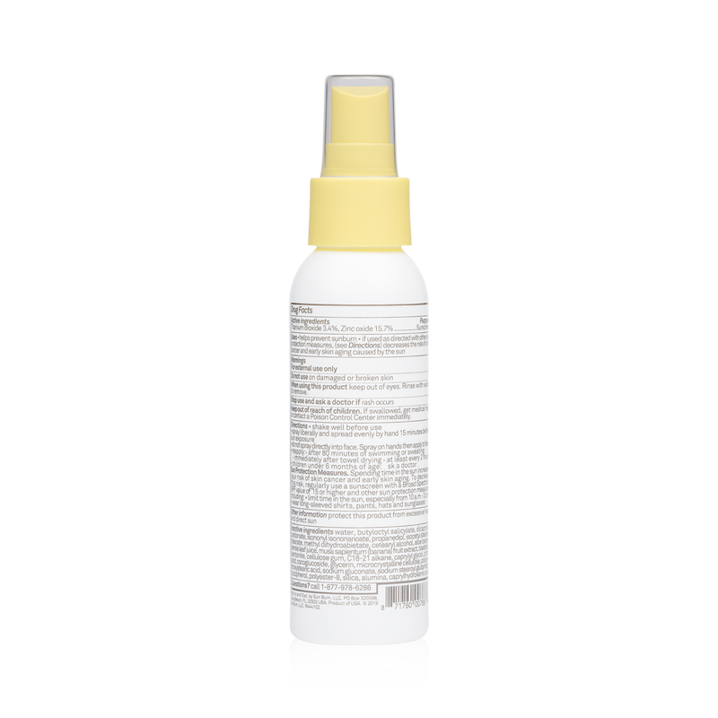 Mineral SPF 50 Sunscreen Spray-Fragrance Free