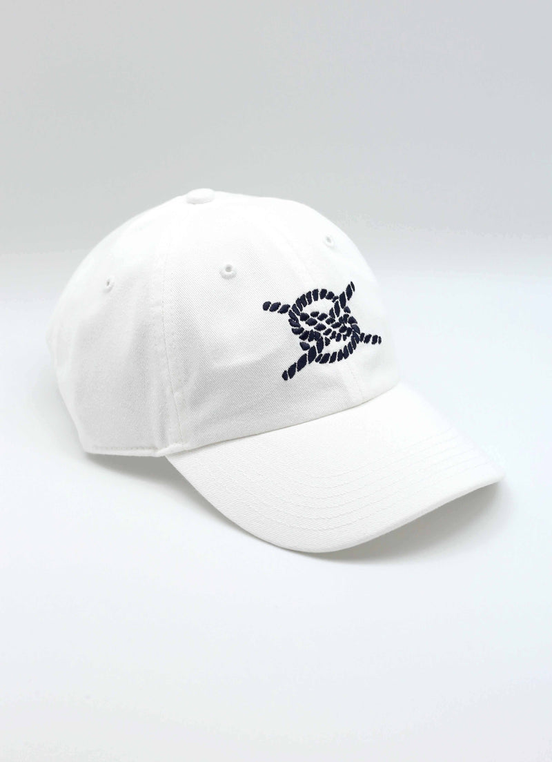 Dad Hat- White/Navy