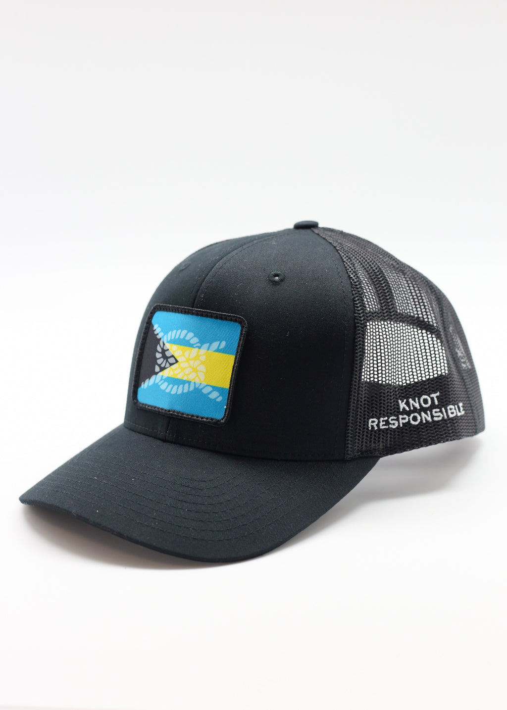 Limited Edition Abaco Strong Original Trucker Hat- Black