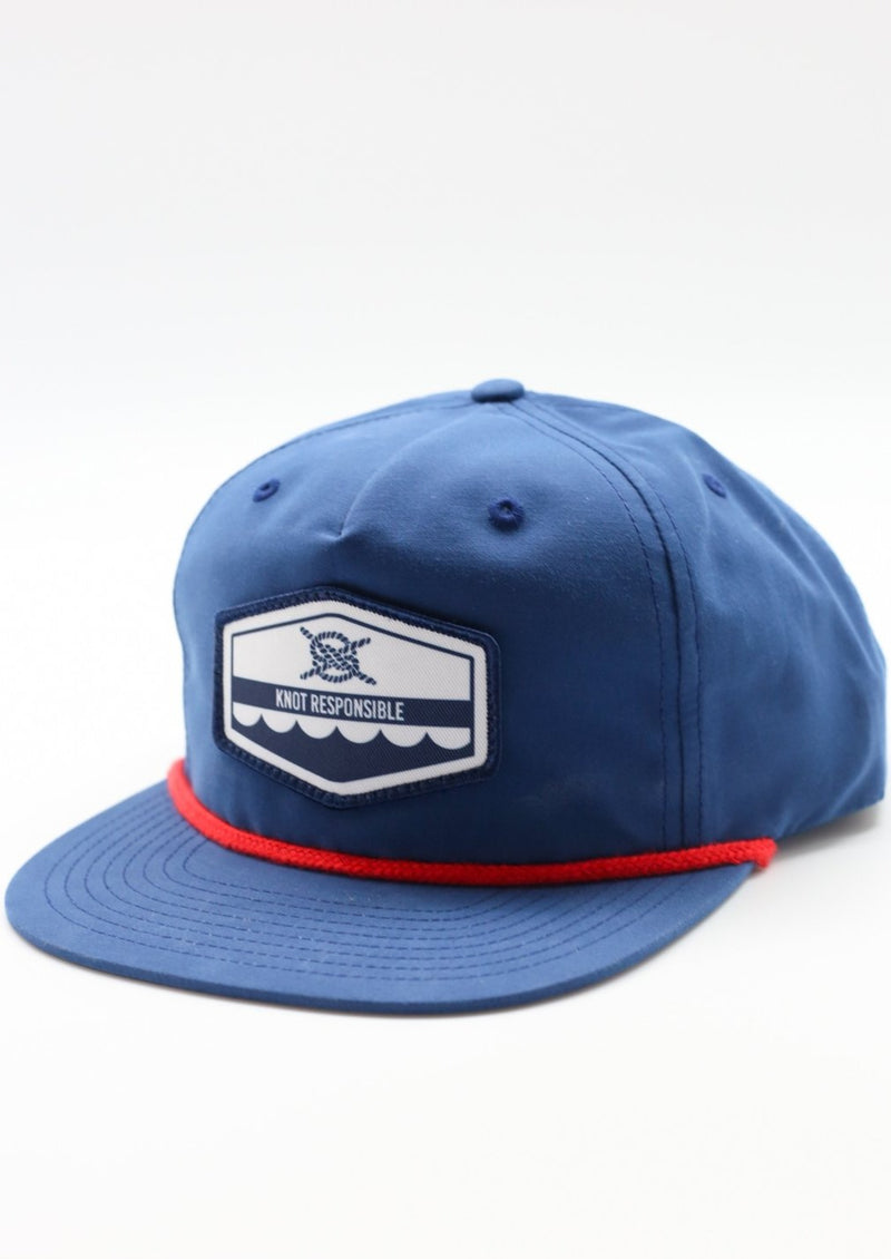 West Coast Hat - Navy/Red