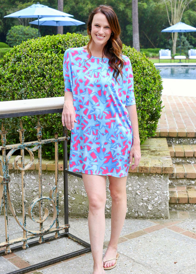 Reese Relaxed Dress Bluffharbor Starfish
