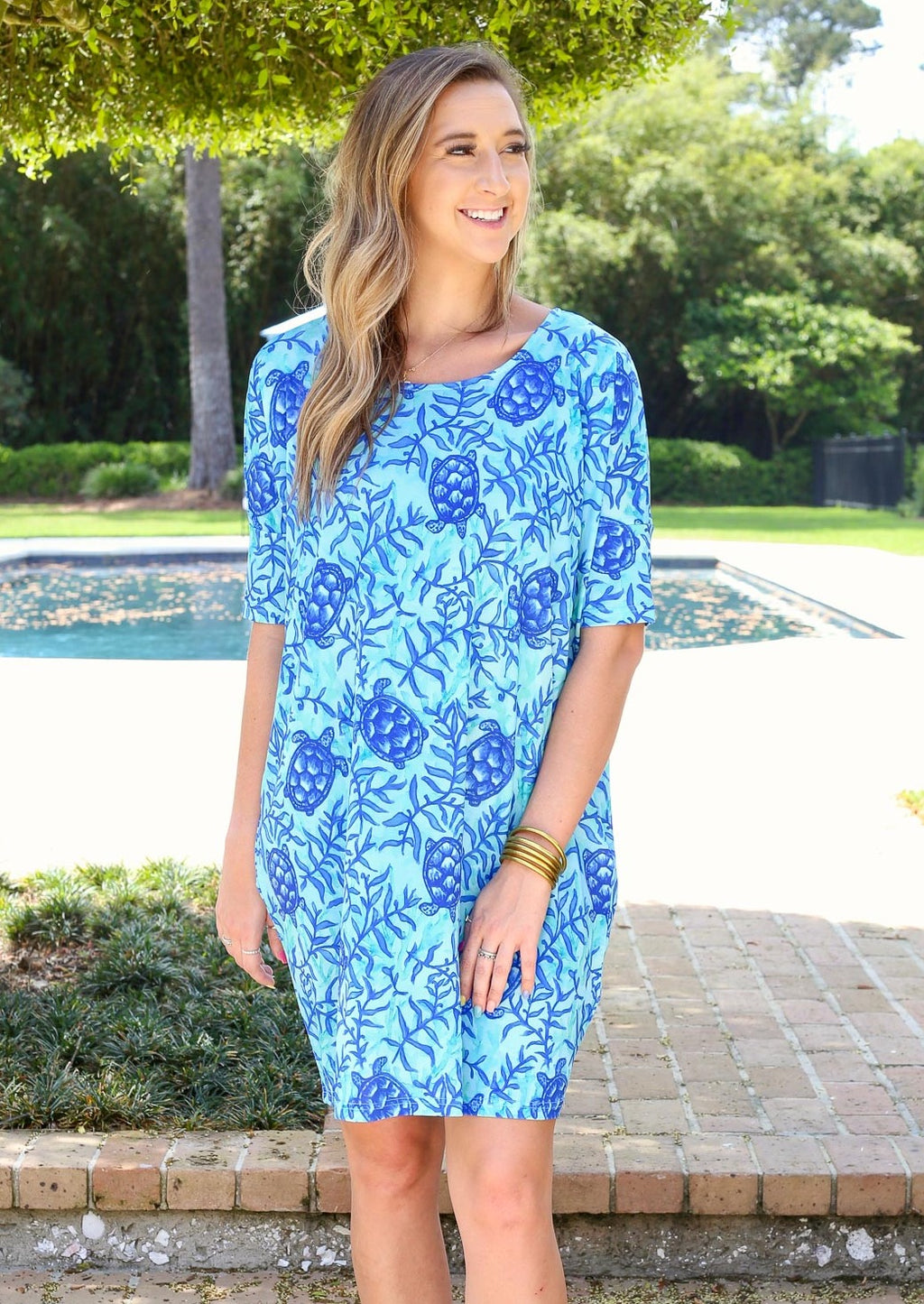 Reese Relaxed Dress Coco Bay Turtles