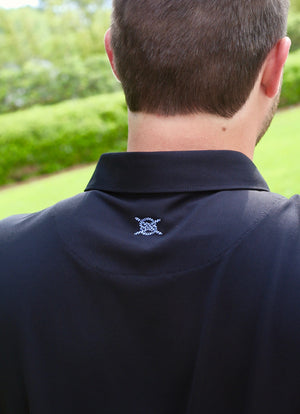 Abaco Classic Polo - Black Cloud