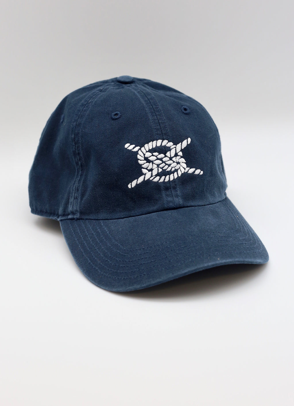 Dad Hat- Navy/ White