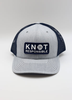 Original Trucker Hat- Heather Grey/Navy