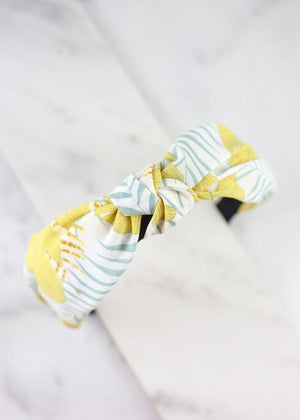Banana Leaf Headband Yellow