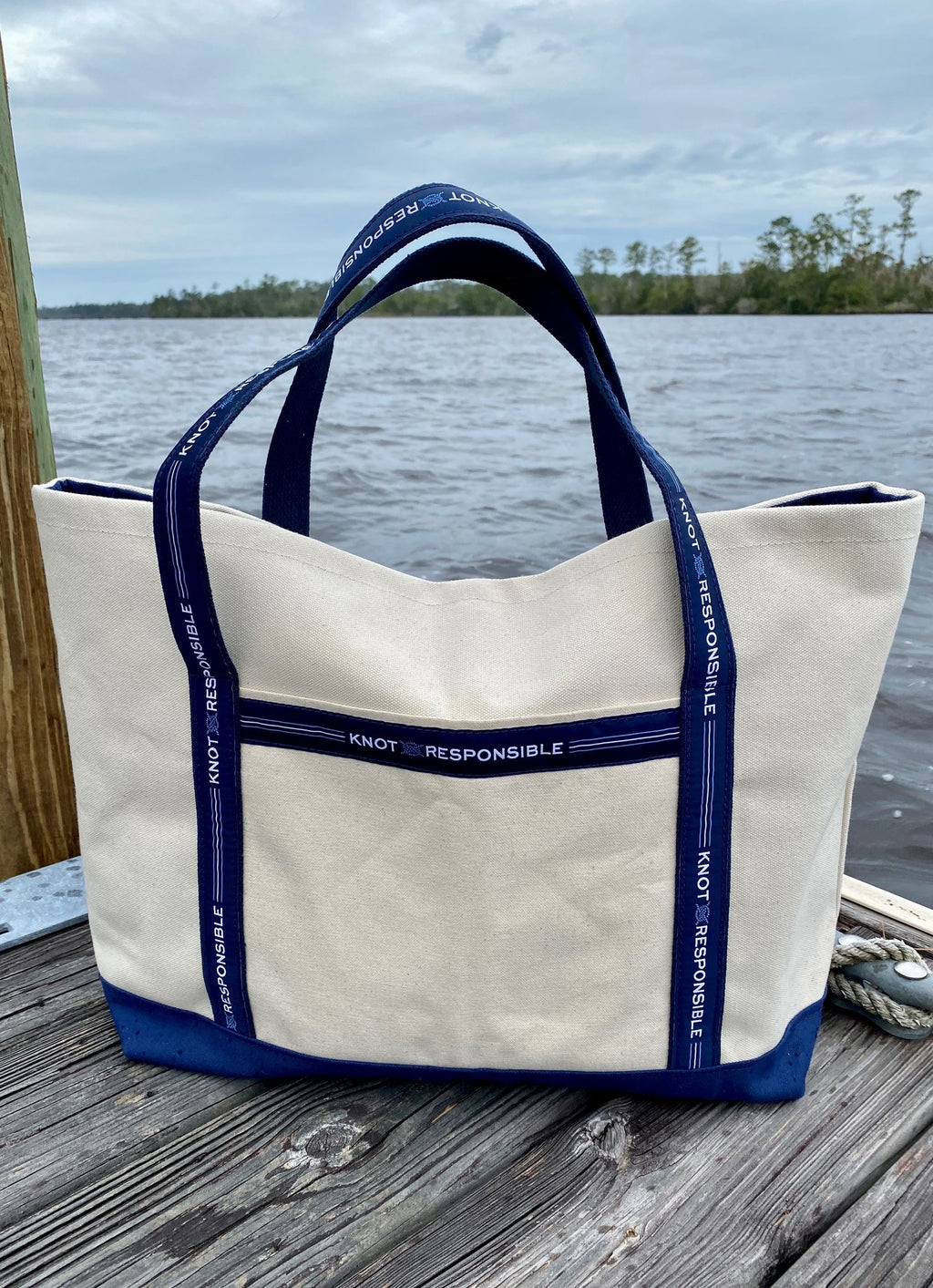 Dockside Canvas Tote