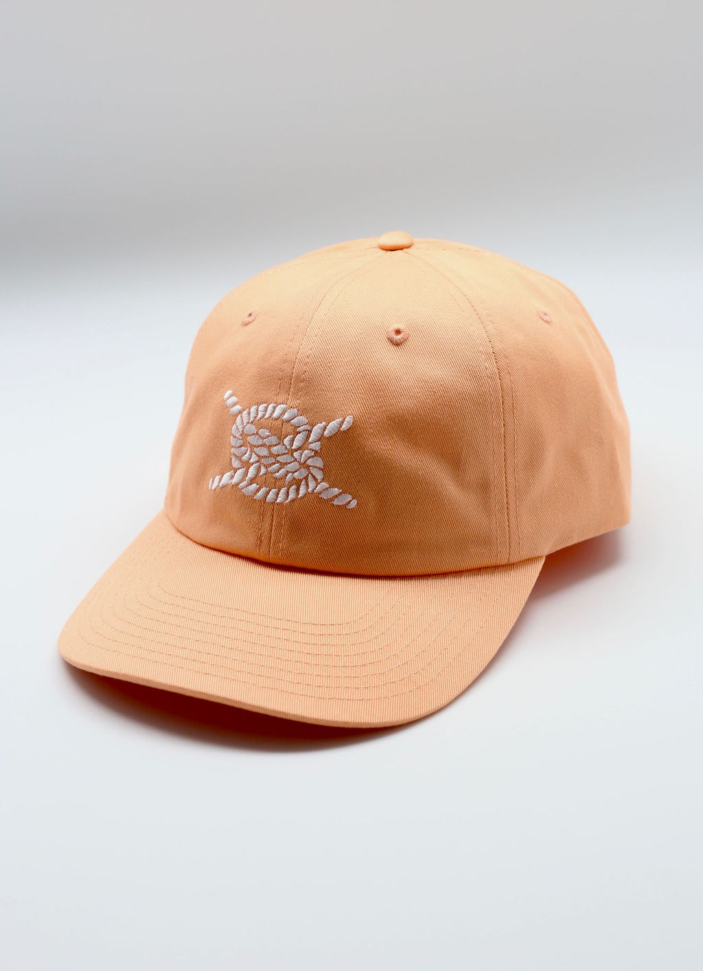 Dad Hat-Mango/ White