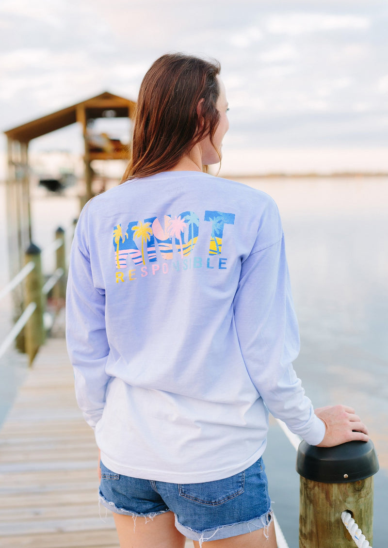 Knot Responsible Multi Ombre Long Sleeve Tee