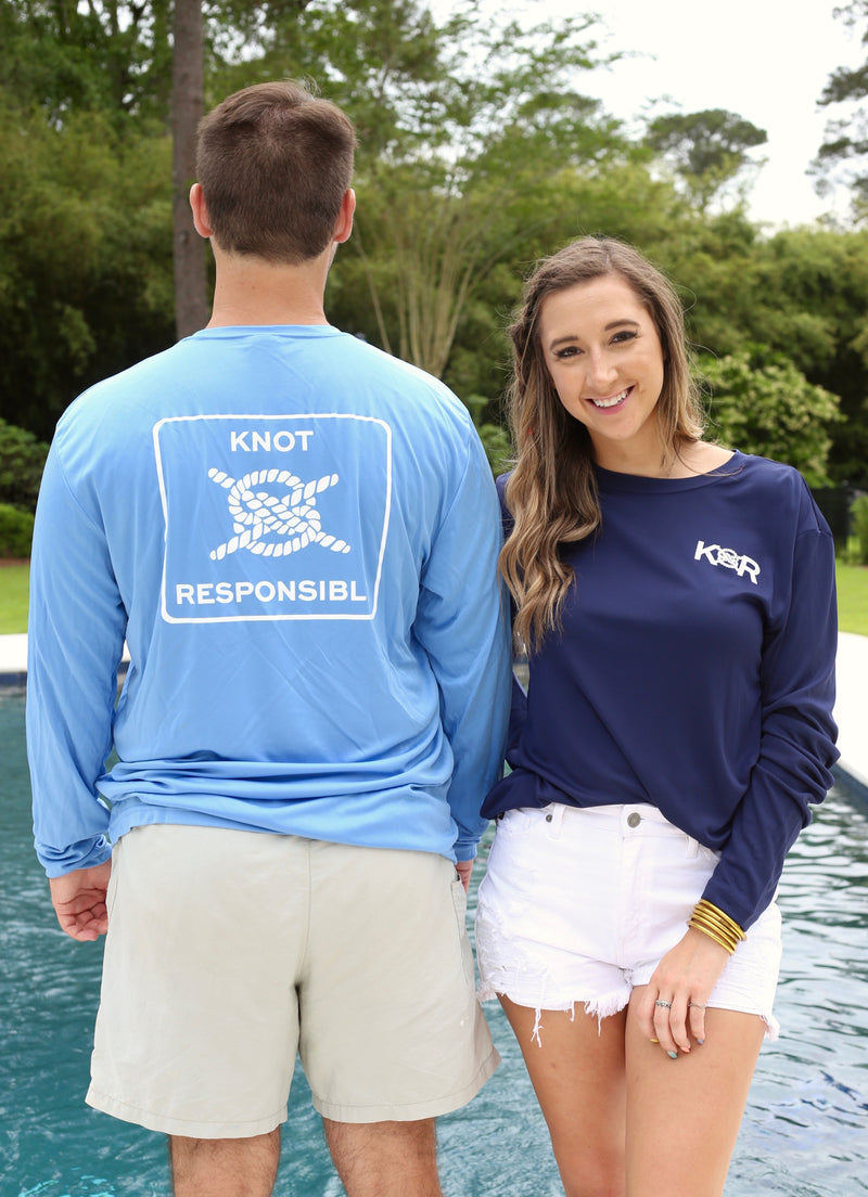 Classic Performance Long Sleeve - Carolina Blue