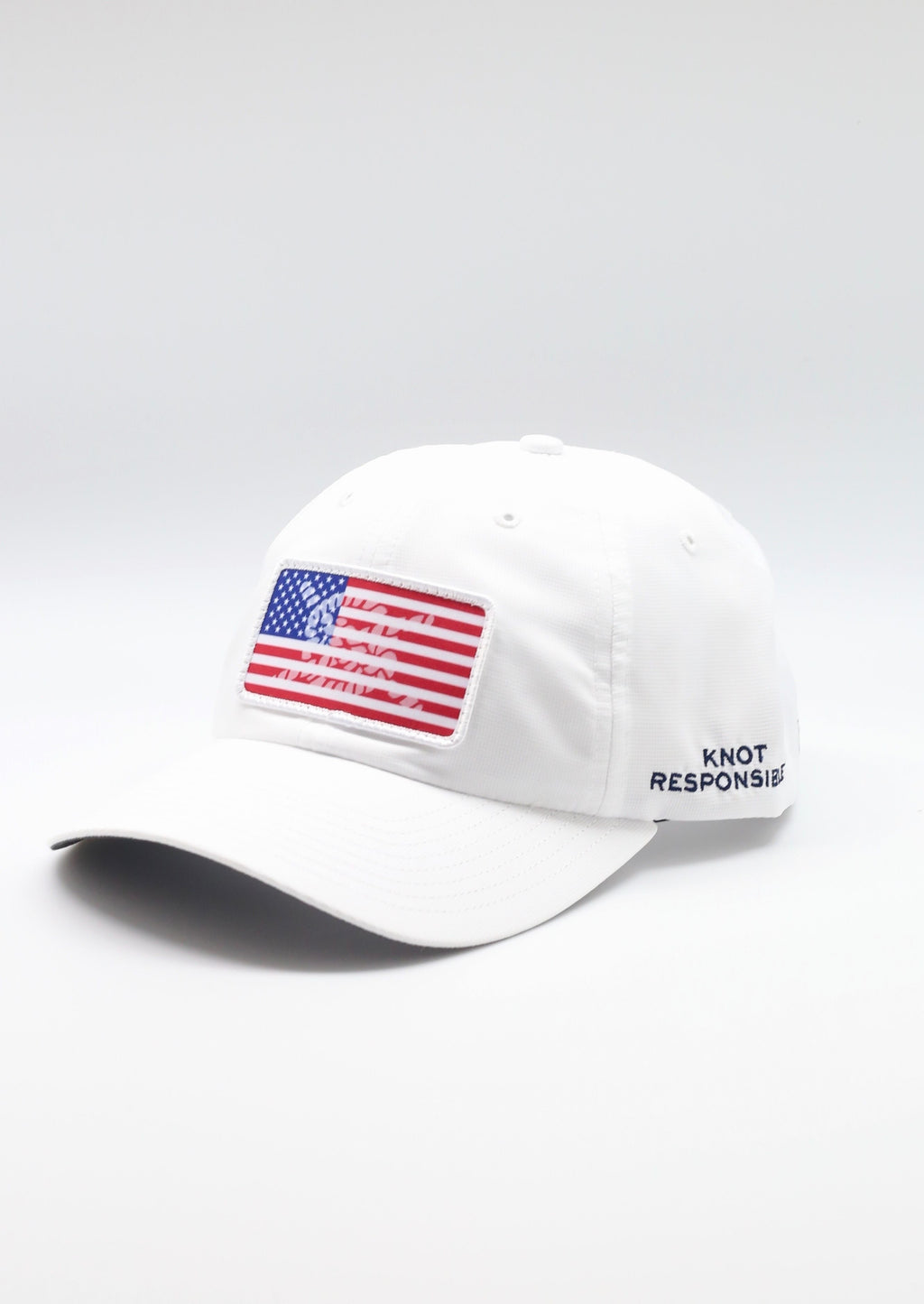 Limited Edition USA Patch Performance Hat- White