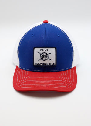 Original Trucker Hat-Red/White/Blue