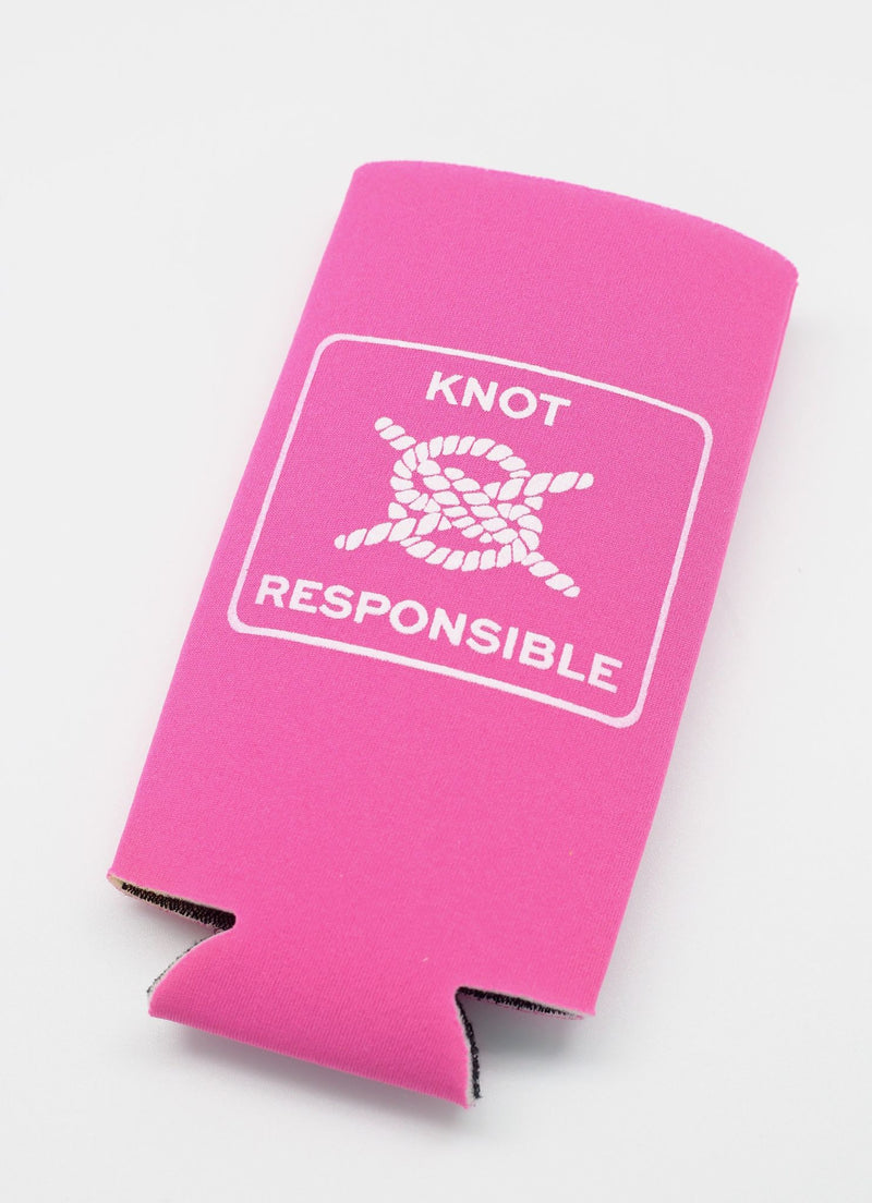 Classic KR Slim Can Koozie- Hot Pink