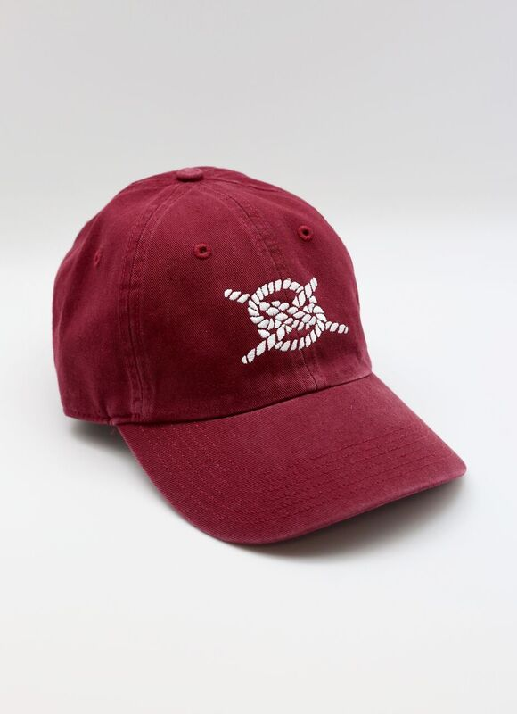 Dad Hat- Crimson/ White