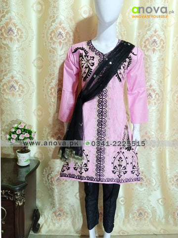 Fancy Embroided Three Piece Suit Anova.pk