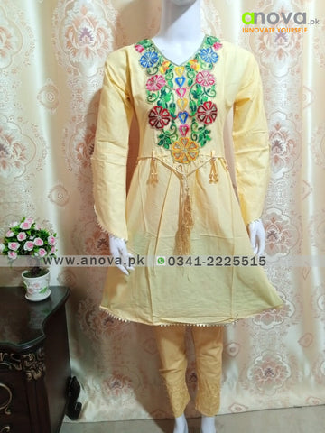 Three Piece Fancy Suit Anova.pk
