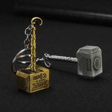 Load image into Gallery viewer, Thor Hammer Keychain New Style 2020