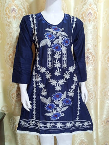 Fancy Embroided Three Piece Suit Article CST-4003
